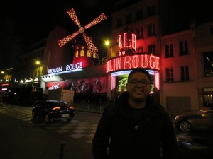 The Red Windmill and I